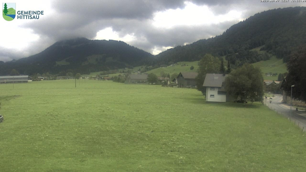 Aktuelles Bild der Webcam in Hittisau, Bregenzerwald